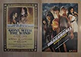 Poster doble cine: DragonBall evolution y Gone With the Wind