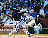 Signed Manny Pina Photo - 8x10 - Autographed MLB Photos