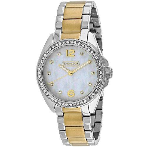 Womens Tristen Two Tone Crystal Bracelet