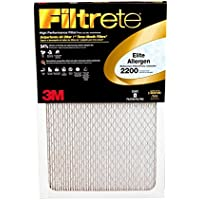 Filtrete 14x20x1 MPR 2200 Elite Allergen Filter 1PK