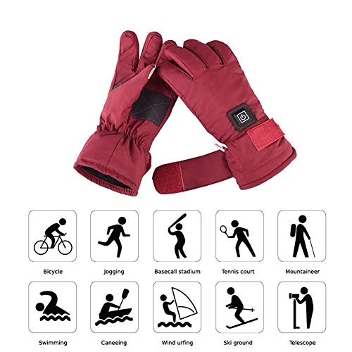 Yunt Electric Heated Gloves,Waterproof Touch Screen Heating Gloves by Yunt (Image #7)