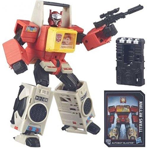 Transformers Generations Titans Return Autobot Blaster And Twin Cast .HN#GG_634T6344 (Twin Blaster)