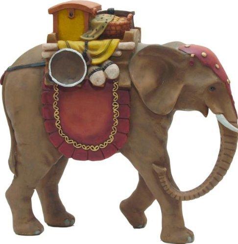 Elefant handbemalen geeignet f/ür 9cm Figuren