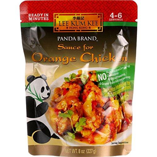 Panda Sauce Mandarin Orange Chicken