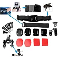 YFY 9-In-1 Basic Outdoor Sports Accessories Kit for GoPro Hero Cameras