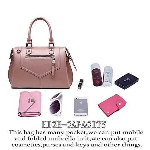 0b10e3fad98 GAVERIL Bolso mochila para mujer Rosa rosa azul marino -finafloristes.es