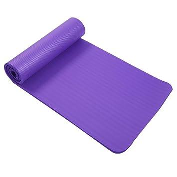 RCFRGVVEVCF Estera de Yoga 15Mm Ejercicio Plegable Estera de ...