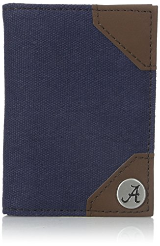 Concept One Accessories NCAA Alabama University Bi-Fold Wallet, One Size, Navy ()