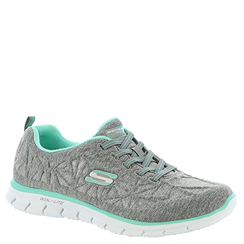 Skechers Glider in The Zone, Scarpe da Ginnastica Donna Gray/Mint