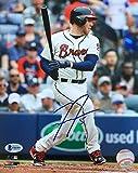 Freddie Freeman Signed 8x10 Atlanta Braves Photo BAS