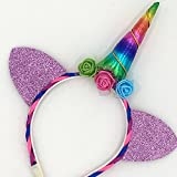 Unicorn Horn Headband Birthday Decoration
