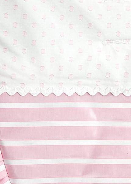 Babyline Oporto - Colchoneta para silla de paseo, color rosa bebé