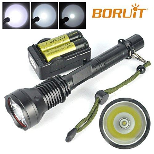 6000LM XM-L T6 LED Tactical Taschenlampe 18650 Handlampe Fackel Akku Ladeger?t