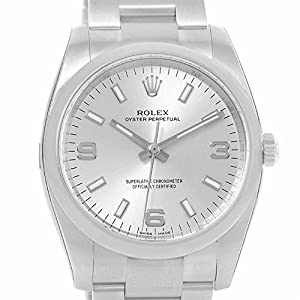 Rolex Air-King automatic-self-wind mens Watch 114200 (Certified Pre-owned)