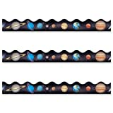 Wholesale CASE of 25 - Trend Solar System Themed Trimmer Set-Solar Sytem Themed Trimmer, 12 Panels, 39' Long