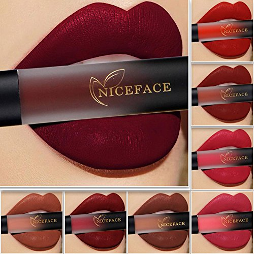 Lip Glosses Professional Girls Make-up Lipstick Long-lasting for Women by TOPUNDER B