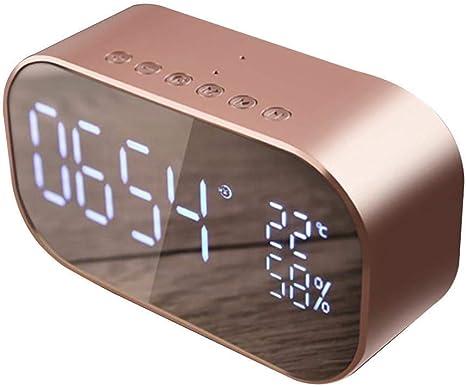 Zongha Reloj Digital Pared Grande Despertador fornite Dormitorio Reloj Reloj led Reloj de Escritorio Los niños Reloj Reloj de proyección Rose: Amazon.es: Hogar