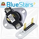 3387134 & 3392519 - Cycling Thermostat & Thermal Fuse Replacement part by Blue Stars - Exact fit for Whirlpool & Kenmore Dryer