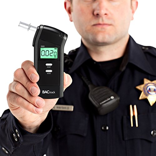 Portable Breathalyzer Test >> BACtrack S80 Breathalyzer | Professional-Grade Accuracy | DOT & NHTSA Approved | FDA 510(k ...