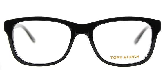 055068ceca Amazon.com  Tory Burch TY2038 Eyeglass Frames 501-52 - Black Frame ...