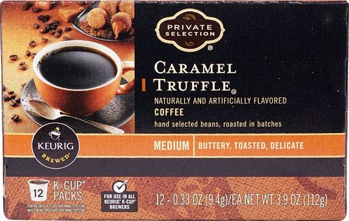 Private Selection Caramel Truffle Coffee K-Cups 12 Ct (Pack of 2)