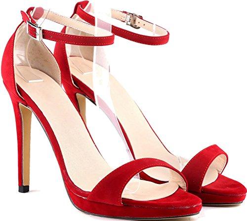 Salabobo red Compensées Sandales Sandales femme Salabobo 4xwqnHRU