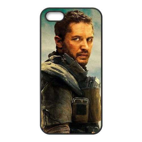 Mad Max Fury Road Movie Wide coque iPhone 5 5S cellulaire cas coque de téléphone cas téléphone cellulaire noir couvercle EOKXLLNCD25673