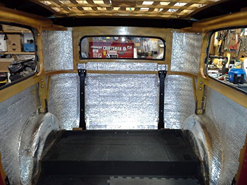 Car insulation 4 39 x 10 39 roll 40 sqft sound deadener for Best sound barrier insulation