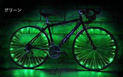 [해외]Miyinla 자전거 휠 라이트 LED 간단 장착 방수 안전 경고 라이트 스포크 라이트 안전 라이트 / Miyinla Bicycle Wheel Light LED Easy Installation Waterproof Safety Warning Light Spoke Light Safety Light
