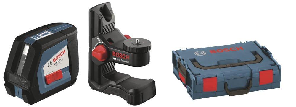 Bosch GLL BM Professional Nivel láser de líneas autonivelante