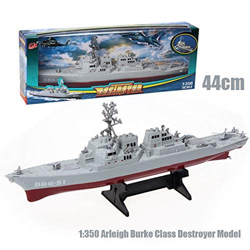 (FidgetGear USS Arleigh Burke-Class Destroyer Ship 1:350 Guided Missile Navy Warship Models )