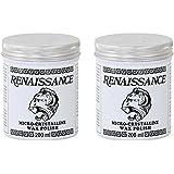 Set of 2 Renaissance Wax Polish Micro-crystalline 200ml Containers