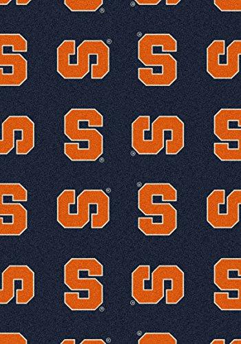 NCAA Team Repeat Rug - Syracuse Orangemen, 7'8
