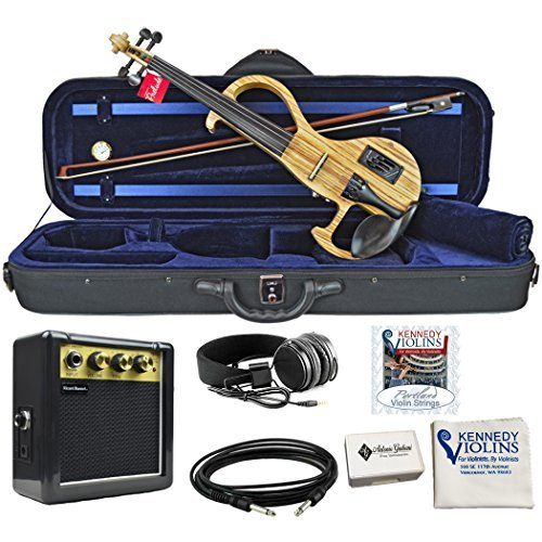 Bunnel EDGE Clearance Electric Violin Outfit Amp Included BE300 (Sunrise) by Kennedy Violins
