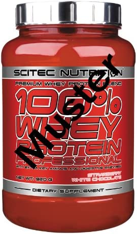 Scitec Nutrition 100% Whey Protein Professional 920 g Schokolade Cookies & Cream