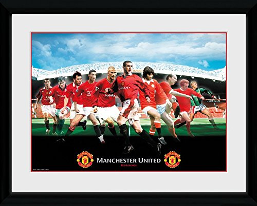 GB Posters Manchester United Legends Framed Photo