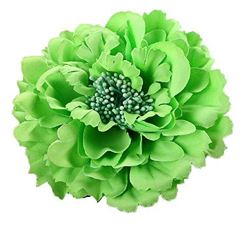 Floral Fall Peony Flower Hair Clip Flamenco Dancer Pin up Flower Brooch HC-01 ()