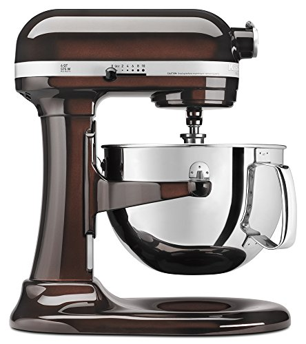 KitchenAid KP26M1XES 6 Qt. Professional 600 Series Bowl-Lift Stand Mixer - Espresso