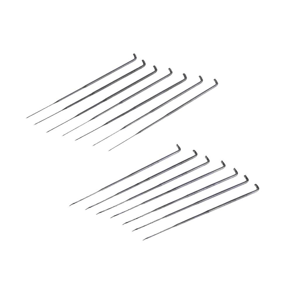 Baoblaze 14 Pieces Star Shape Spiral Shape Felting Needles Pin Tools DIY Felt Wool Pins Starter Kit