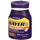 Bayer Back & Body Aspirin 500mg Coated