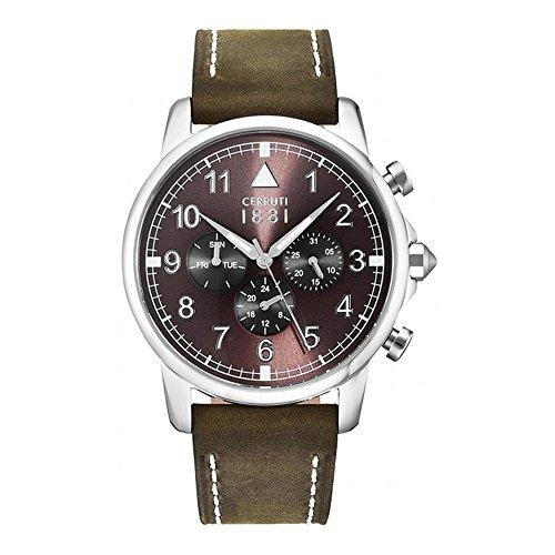 Cerruti 1881 CRA081SN12BR-I men's quartz wristwatch