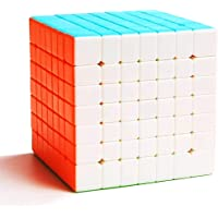 TOYESS Stickerless 7x7 Speed Cube, Smooth Magic Cube 7x7x7, Professional Puzzle Cube, Brain Teasers Toys for Kids & Adults