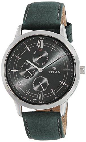 Multifunction Dial Watch (Titan On Trend Black Dial Multifunction Watch for Men)