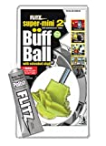 Flitz SM 10250-50 Yellow Original Super Mini Buff Balls in Clamshell, 2-Inch