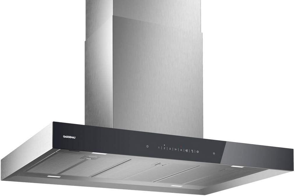 Gaggenau AI 240 191 - Campana extractora (90 cm, acero), color gris: Amazon.es: Grandes electrodomésticos