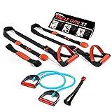 Jungle Gym XT & 10 lb Resistance Fitness Cable Kit