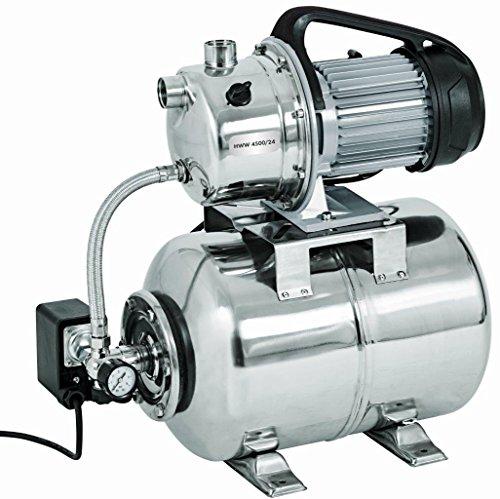 HWW-450025-Inox-1100W-Gartenpumpe-Profi-max4600lh