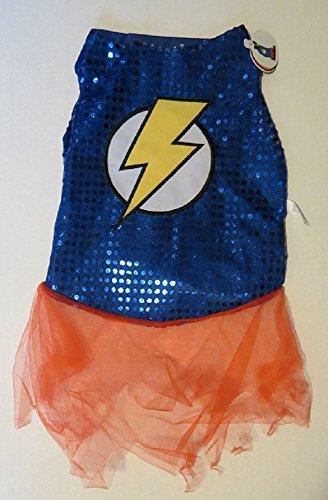 Hero Pet Costume Lightning Bolt Small]()