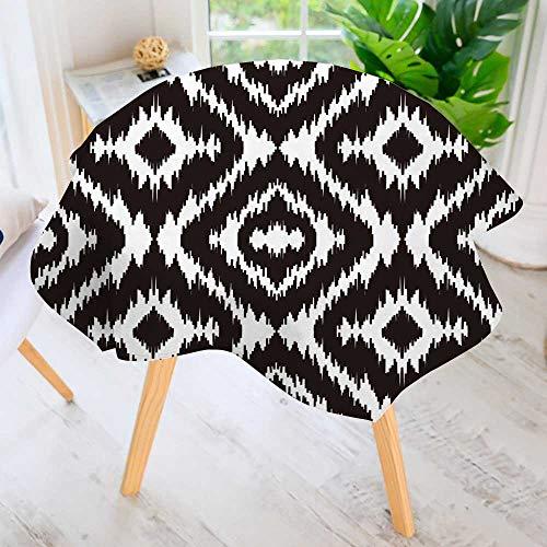 PRUNUS Hand Screen Printed Tablecloth-Ethnic Boho Textile Pr