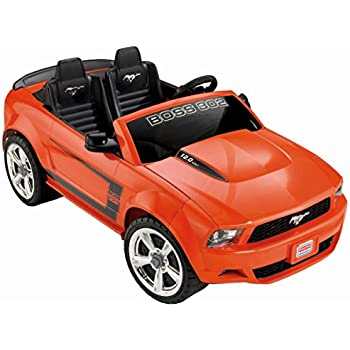 Amazon Com Fisher Price Power Wheels Ford Mustang Toys Games